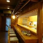 平和寿司 - 内観