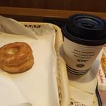 75122576 - コーヒー、ビスケット