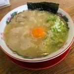 一休軒 - 料理写真:「玉子入りラーメン」(600円)。美味かった~。