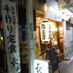 ごはんや長助 - 2017.10 堺筋本町駅から堺筋を南に向かって3つ目の交差点を西に行った先に立ち飲み