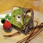 GARDEN PARTY cafe + kitchen - 本日のシフォンケーキ