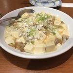 鴻 - 海老出汁の効いた「白麻婆豆腐」