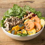 Mr.FARMER - なると金時と季節野菜のサラダ