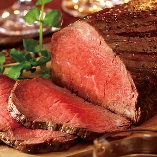 名物!『1ポンド塊肉ロースト』