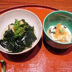 蓬莱 - 若竹煮、湯葉と飛びっ子