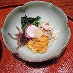 蓬莱 - 渡り蟹とクレソンの酢の物
