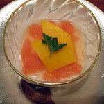 蓬莱 - マンゴーとオレンジゼリー