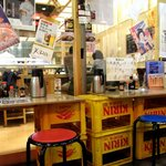 定食居酒屋 廻天寿司 まぐろ人 - 定食居酒屋コーナー