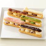 ハーゲンダッツ ラ メゾン ギンザ - 2種類のアイスクリームが楽しめる「エクレール」