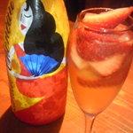 サントロペ - ★いちご入りシャンパン★