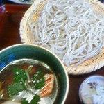 7513957 - 鴨汁そば(1400円)