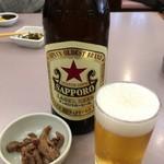 食事処 酒肴 水口 - 赤星大580円