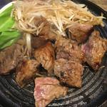 チョップスティックステーキ肉や - サーロインステーキ☆★★☆セルフヤキヤキ
