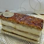 75131203 - バター感あるパイ生地とバニラカスタードクリームが相性が良いミルフォイユ