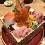 75133091 - 老舗魚問屋の海鮮丼 2030円税込