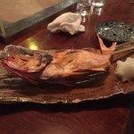 魚秀 - 金目鯛の一本焼き