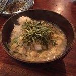 魚秀 - 〆の海老出汁雑炊