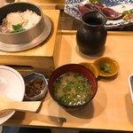 土佐わら焼き 龍神丸 - 料理写真:鯛釜めし定食