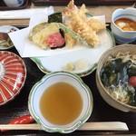 吟松 - 天婦羅定食(1,750円)ご飯おかわり無料