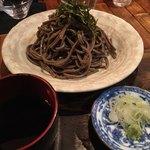 壽哲廸 - 「山形田舎そば」つゆは醤油角が強くて今一つ