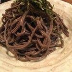 壽哲廸 - やたら黒い蕎麦