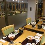 箱根湯本ホテル - ディナー席の様子。