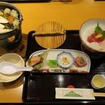 箱根湯本ホテル - ディナーのハーフ料理。