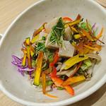 花旬庵 - 料理写真:そば豆腐サラダ