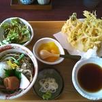 富士見庵 - 週替わりそば 昼の膳