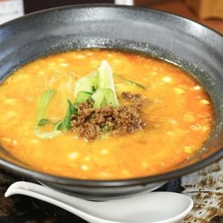 杏亭 - 料理写真:■汁あり担々麺 800円