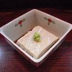 京雀 - 胡麻豆腐。