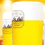 味太助 - アサヒスーパードライ 生ビール