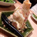 夜ノ焼魚 ちょーちょむすび - ポテトサラダ