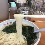 75143017 - 色白麺アップ