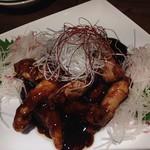 75143251 - 「黒酢の酢豚」1300円