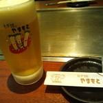 75143489 - ビールグラスはお店のオリジナルグラス