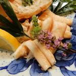 なか井 - 香住ガニの黄金蟹(ハイブリッド蟹)