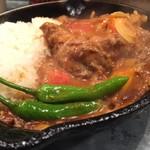 野菜を食べるカレーcamp - トマトと生姜のチキンカレー  3辛