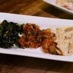 アリババ - 前菜盛り合わせ