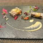 リッチ - 料理写真:秋刀魚と焼きなすのミルフィーユ仕立て