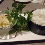 新横浜 grill&wine NYグリル - 〆の濃厚リゾット