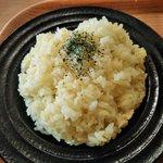 スープカレーハウスしっぽ 矢巾店 - サフランライス