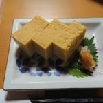 海鮮居酒屋故郷 - 料理写真:お店自慢の卵焼き