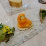 レジーナ イタリアーナ - 本日の前菜3種盛り合わせ
