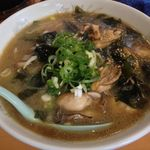 サッポロ香蘭 - 牡蠣ラーメン(しょうゆ)