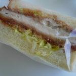 小麦館 - カツサンド