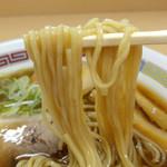 煮干鰮らーめん 圓 - 昔ながらのらーめん(麺)