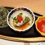 鮨 たじま - 前菜三種