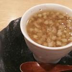 75151987 - 茶碗蒸し  蕎麦の実餡掛け