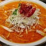 らあめん花月 嵐 - 料理写真:限定/辛紅の薔薇 入山INFINITY RED+大盛り